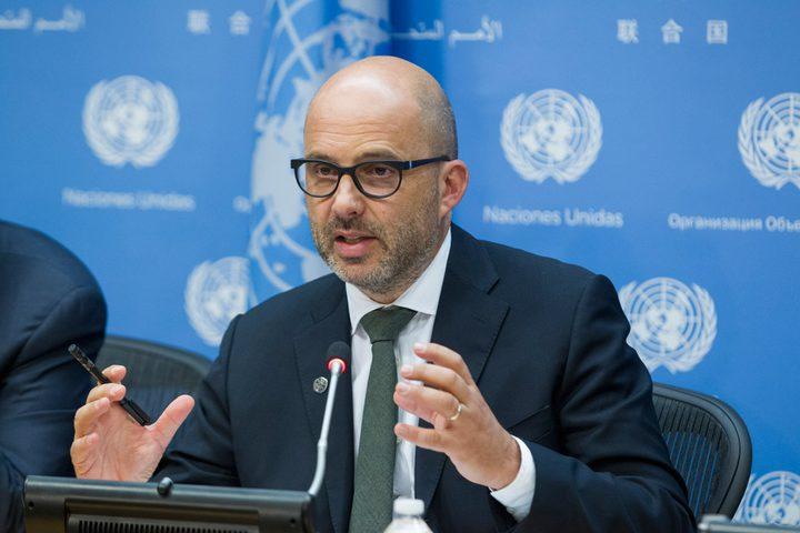 بايبر يطالب باتخاذ إجراءات عالمية لحماية المدنيين