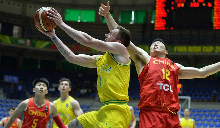 تتويج المنتخب الاسترالي بلقب بطولة آسيا لكرة السلة