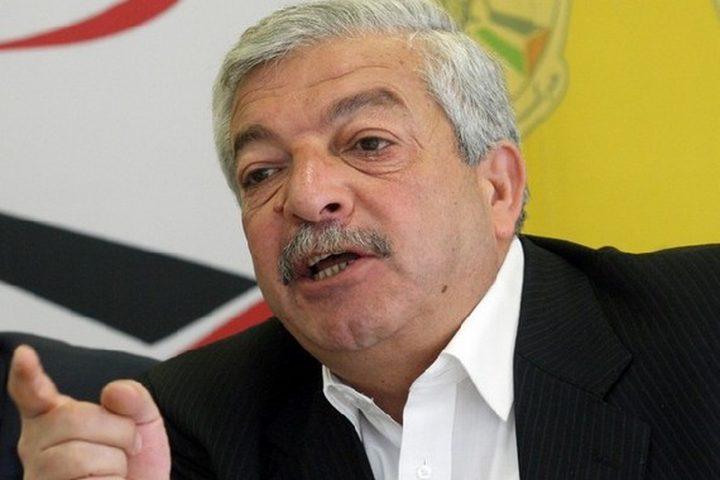 العالول: الفصائل أكدت ضرورة عقد المجلس الوطني وردود حماس غير مشجعة