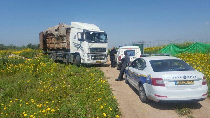 احباط نقل تبغ من الضفة إلى إسرائيل