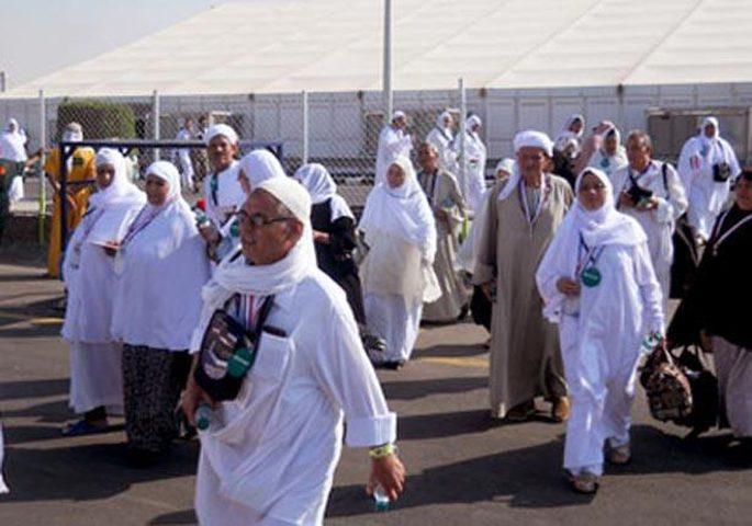 بدء نقل الحجاج الفلسطينيين من المدينة المنورة الى مكة