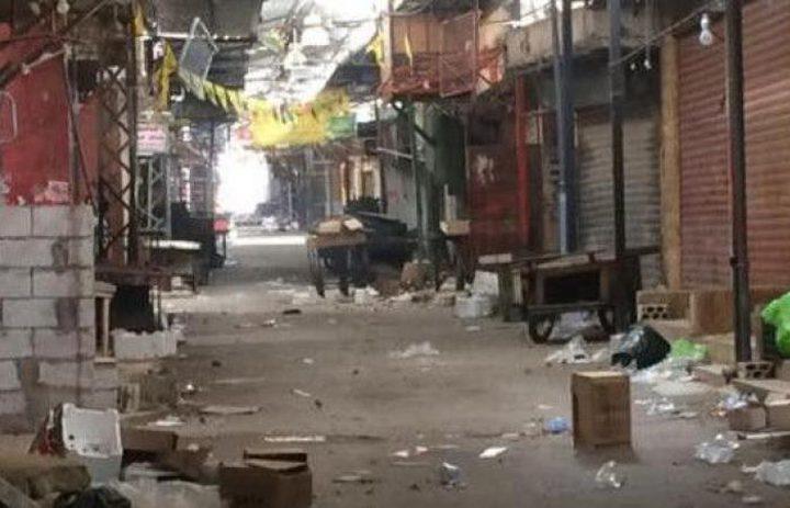 تجدد الإشتباكات بمخيم عين الحلوة في لبنان