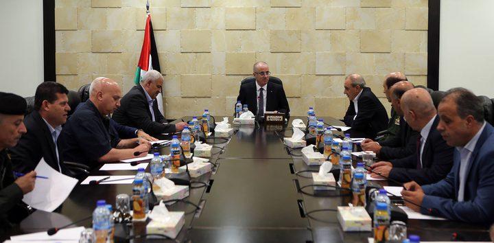 رئيس الوزراء يترأس اجتماعا لقادة المؤسسة الأمنية
