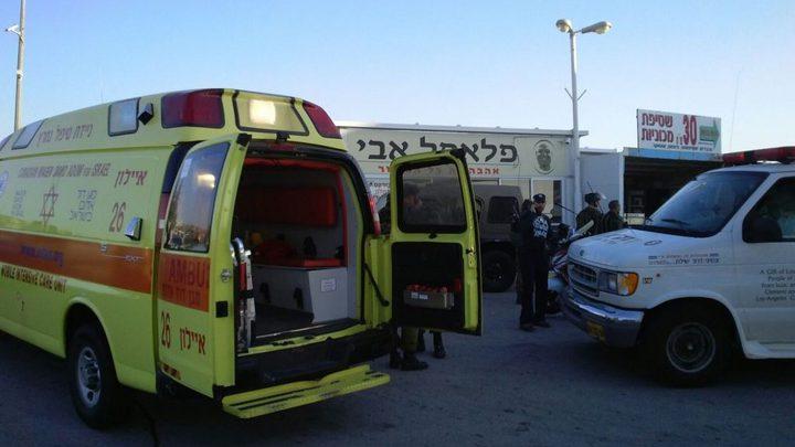 إصابة إسرائيلية طعناً في مدينة الرملة