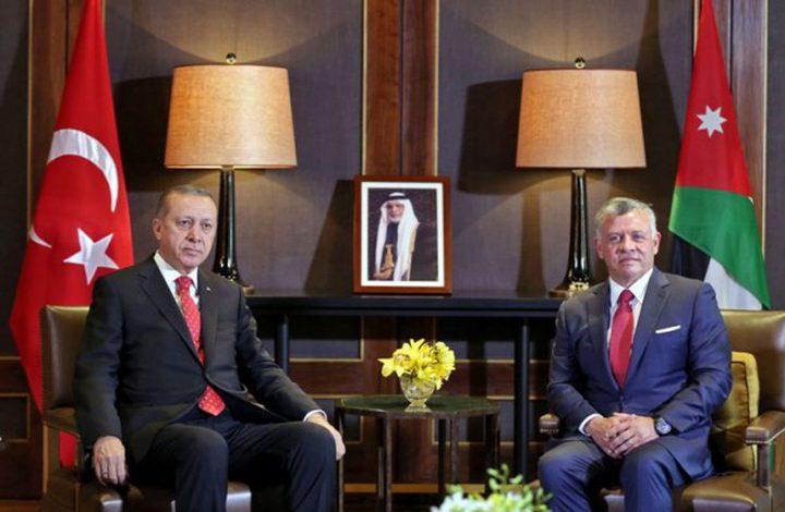 أردوغان من عمان: سنمنع تكرار الاعتداءات في القدس
