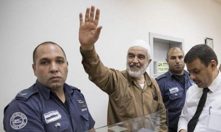 المحكمة الإسرائيلية تنظر في تمديد اعتقال الشيخ صلاح اليوم
