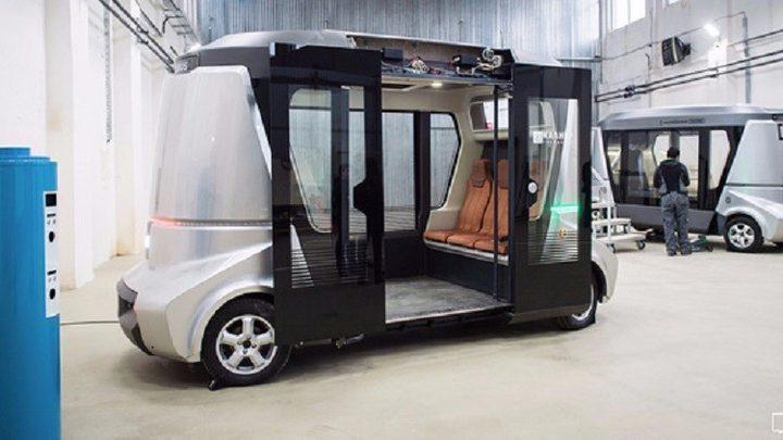 حافلة ذاتية القيادة في موسكو أخر ما قدمته التكنولوجيا