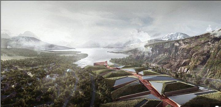 بناء أكبر قلعة للبيانات في القطب الشمالي