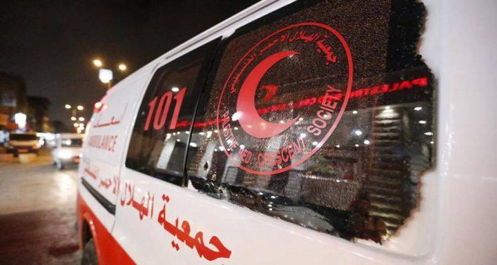 إصابة  11 شخصًا في شجار عائلي بغزة