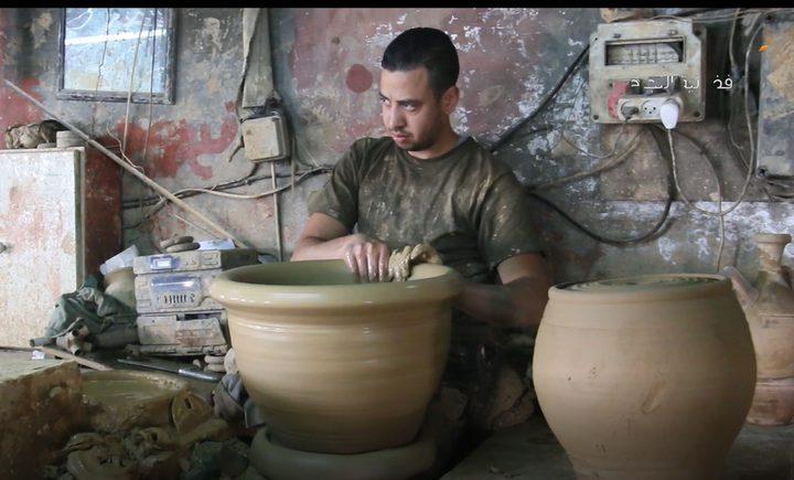 صناعة الفخار بالخليل