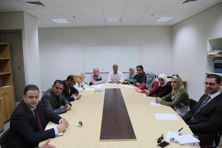 جامعة النجاح تعقد اللقاء الثاني لمشروع ريادة الأعمال
