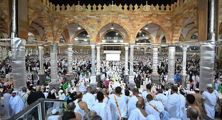 اكتمال نقل جميع حجاج فلسطين من المدينة المنورة إلى مكة المكرمة