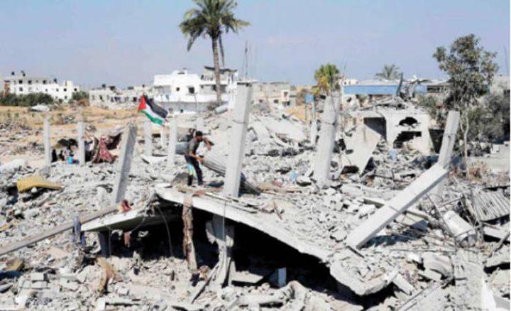 وصول الدفعة الثامنة من المنحة الكويتية لإعمار غزة