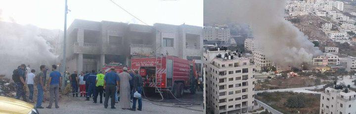 العاصمة الإقتصادية.. حرائق متدحرجة ضربت نابلس والسبب مجهول!