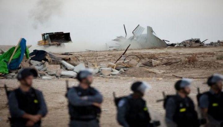 الاحتلال يلزم أهالي قرية العراقيب دفع تكاليف هدم قريتهم