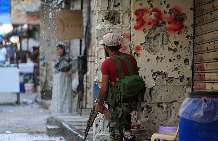 تصاعد الاشتباكات في مخيم عين الحلوة صباحا