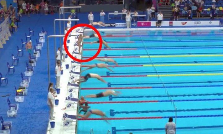 سباح إسباني يتخلى عن بطولة العالم مقابل دقيقة حداد