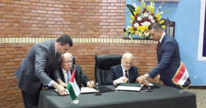 المالكي ونظيره العراقي يوقعان على تأسيس لجنة وزارية مشتركة