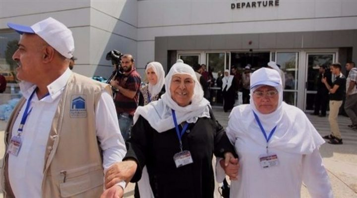 إدعيس والأسدي يطلعان على الخدمات الطبية المقدمة للحجاج الفلسطينيين