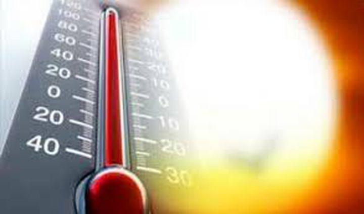 حالة الطقس: اجواء حارة الى شديدة الحرارة
