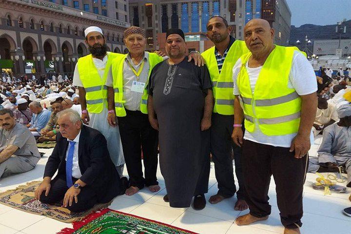 وزير الأوقاف يلتقي وفدا من حجاج فلسطين 48