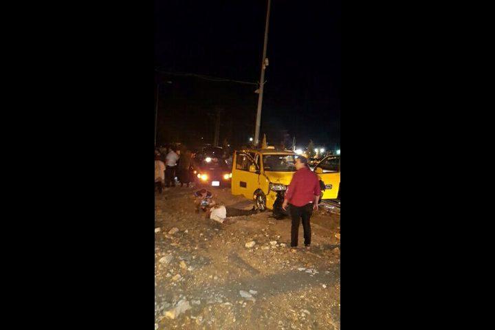 إصابات بينها حالة خطيرة في حادث سير في بلدة تقوع