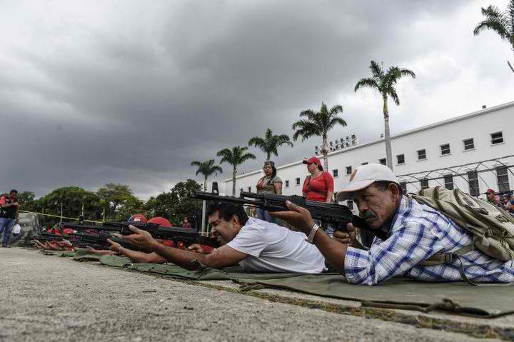 """مناورات عسكرية في فنزويلا لمواجهة """"التهديد"""" الاميركي"""