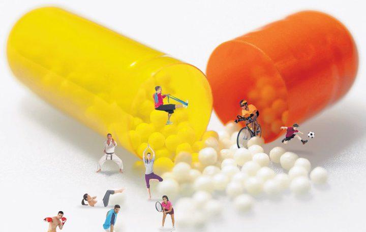 حبة دواء تخدع الجسم بدون ممارسة الرياضة