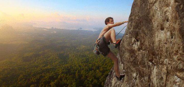 دراسة: إذا أُصبت بالاكتئاب فعليك بتسلّق الصخور!