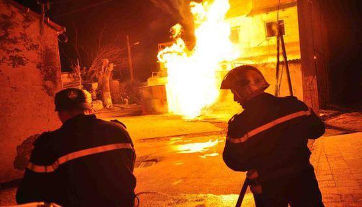 253 حادث إطفاء وإنقاذ خلال أسبوع