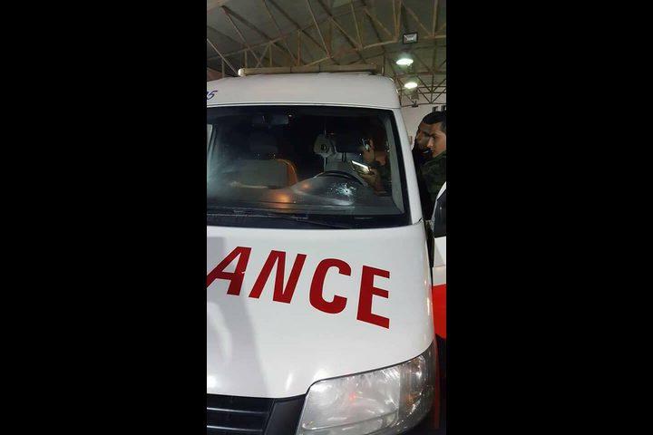 الهلال الأحمر يدعو لوقفة احتجاجية بعد الاعتداء على طاقمه في نابلس
