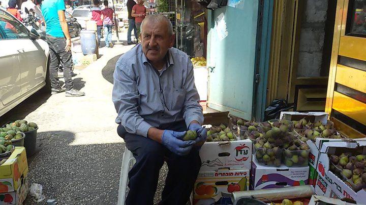 """السبعيني أبو سائد التلاوي: """"بموسم التين ... فش عجين"""""""