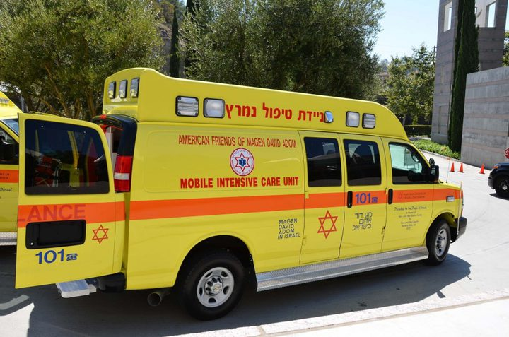 إصابة عضو الكنيست عيساوي فريج وزوجته بحادث سير
