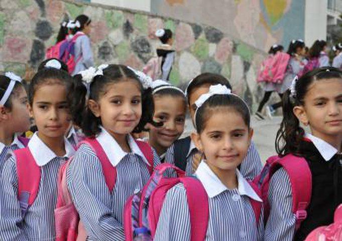 """مدارس أونروا بغزة تحصد المراتب الأولى بجائزة """"المدرسة الدولية"""""""
