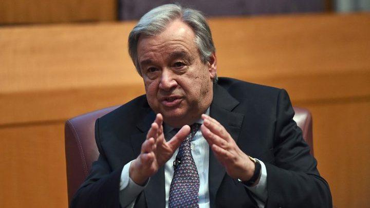 هآرتس: غوتيريش سيطلب من نتنياهو تخفيف الحصار عن غزة