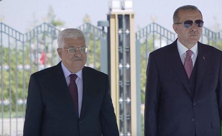 اردوغان: سنمنح الفلسطينيين تأشيرة دخول إلكترونية قريباً