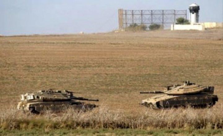 آليات الاحتلال تتوغل وسط إطلاق نار شرق خان يونس