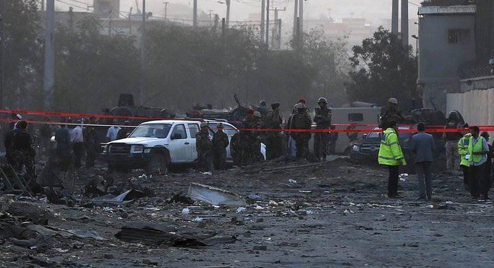 إنفجار قرب السفارة الأميركية في كابول