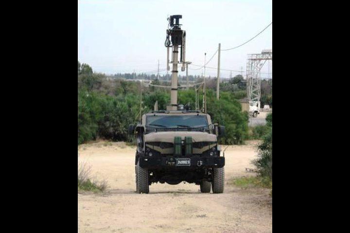 مركبة عسكرية جديدة للجيش الإسرائيلي في الضفة