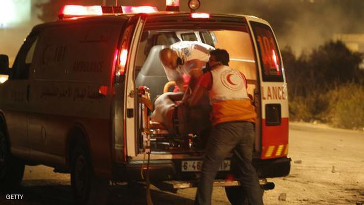 إصابة مواطن بحادث دهس في نابلس