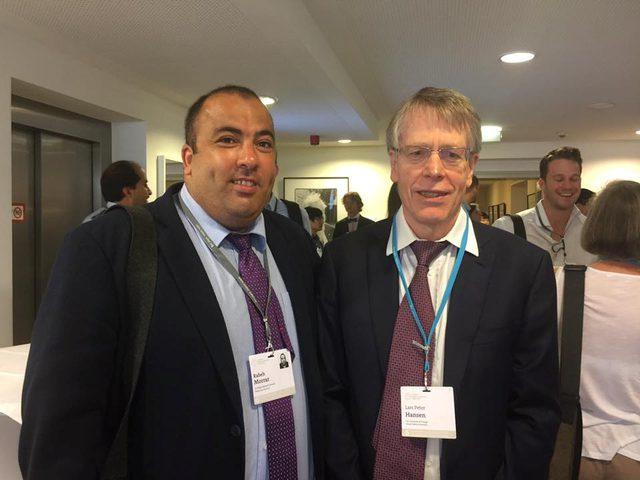 د. رابح مرار يشارك في الاجتماع السادس للحاصلين على جائزة نوبل في الاقتصاد كممثل لفلسطين