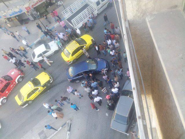 خمس اصابات بحادث سير في شارع سفيان بنابلس