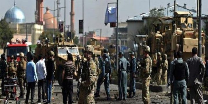 انفجار قرب السفارة الأميركية وسط كابول