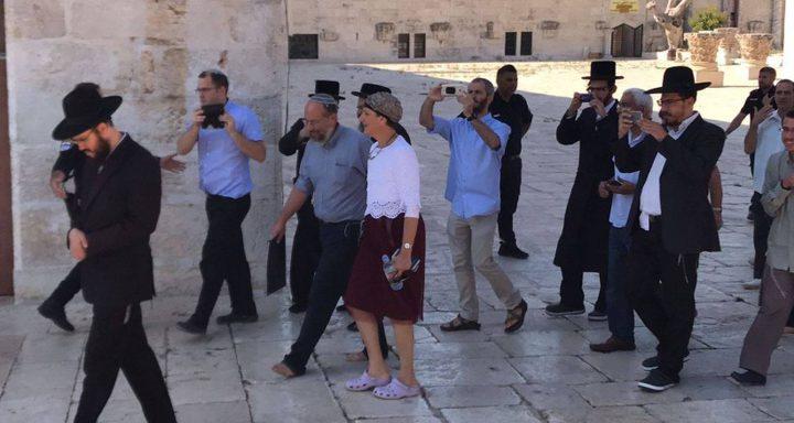 الأردن: رفع الحظر عن اقتحام أعضاء الكنيست للأقصى يزيد التوتر والتصعيد