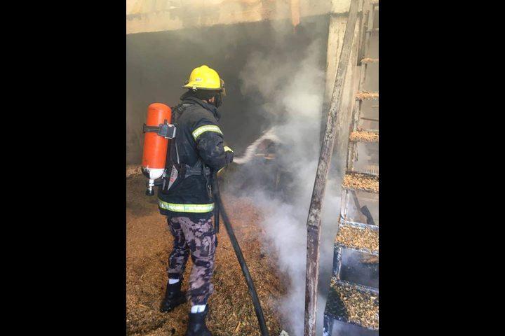 اندلاع حريق بمنجرة في بيت لحم