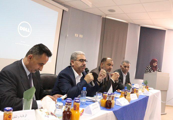 إجتماع مشترك لمجالس محافظة الخليل