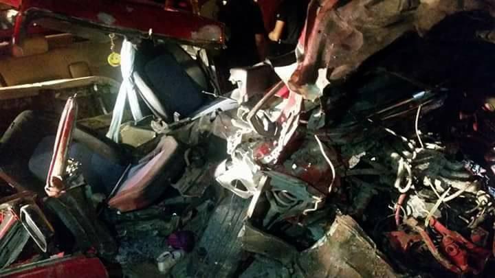 صور: 9 اصابات بينها 4 خطيرة في حادث سير قرب طمون في جنين