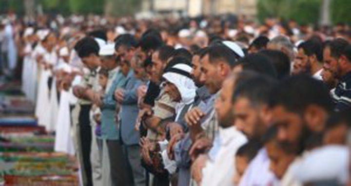 غزة: أداء صلاة عيد الأضحى في العراء
