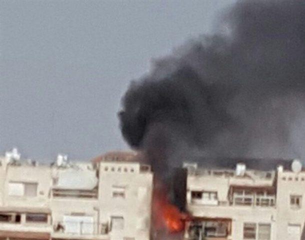 السيطرة على حريق اندلع في مستوطنة معاليه أدوميم