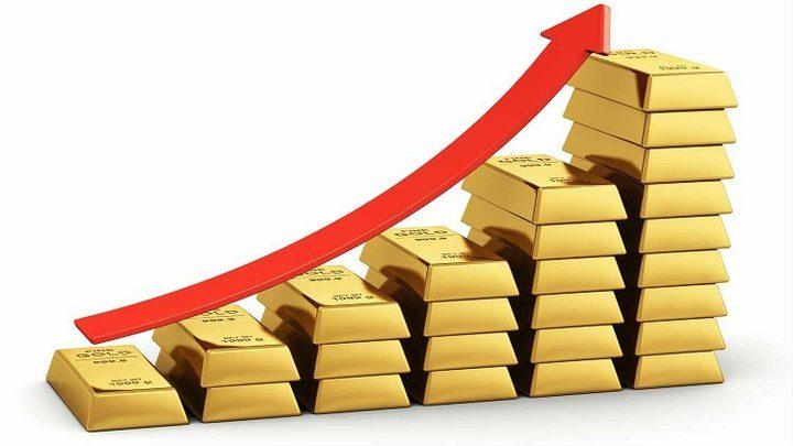 ارتفاع أسعار الذهب خلال الشهر الحالي